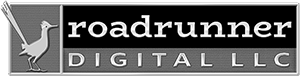 Roadrunner Digital Footer Logo -300 bw